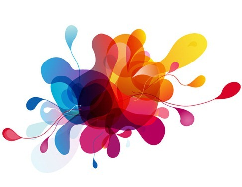 Colorful vector bubbles design thumb